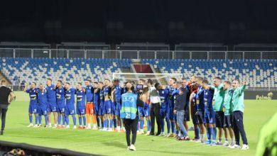 """Photo of """"Intelektualët"""" i japin zemer ekipit të tyre para ndeshjes me Feynoordin sonte"""