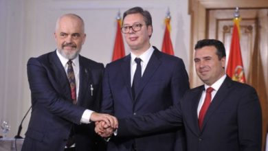 """Photo of """"Open Balkan"""", Zaev, Rama dhe Vuçiq ia lënë një emër të ri minishengenit"""