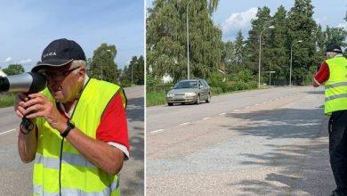 Photo of Plaku mashtron keq shoferët që vozisin shpejt: Del në rrugë me tharës flokësh si radar